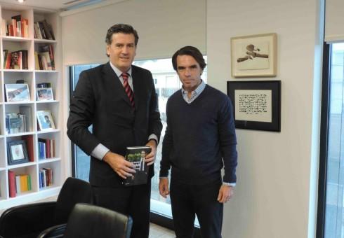 MADRID: Con el Presidente Aznar