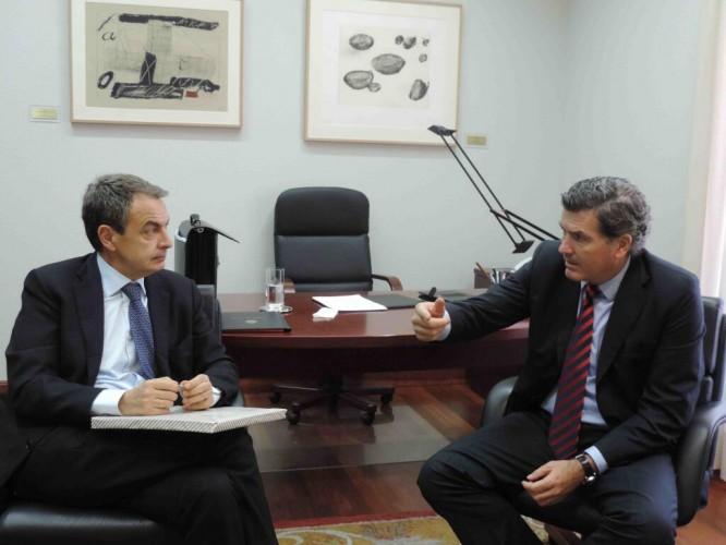 MADRID: Con el Presidente Rodríguez Zapatero