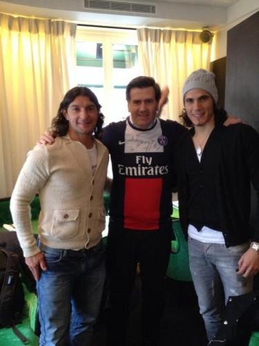 PARIS: en el PSG con Guglielmone y Cavani