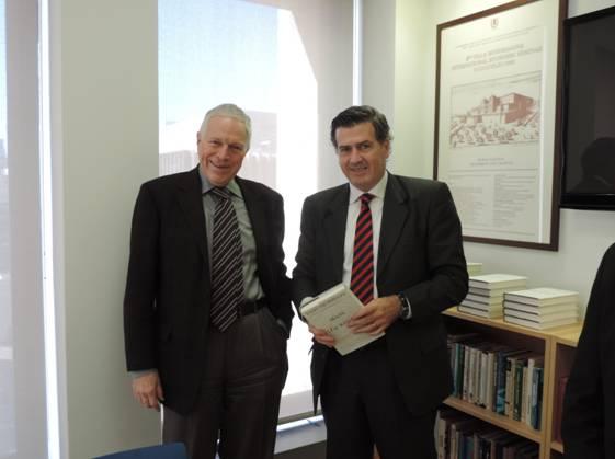 NEW YORK: Con el premio Nobel de Economía Edmund Phelps.